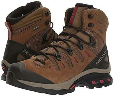 AU217.14 • Buy New Women's Salomon Quest 4D 3 GTX Gore-Tex Waterproof Boots Size 7 Brown 402458