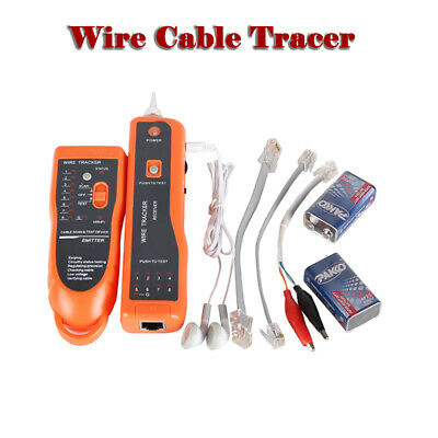 Telephone Lan Network RJ45/11 Tester Tracker Cable Wire Finder Tracer Toner AU • 20.78£
