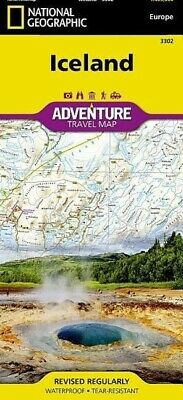 National Geographic Maps ~ Iceland 9781566955348 • 15.47£