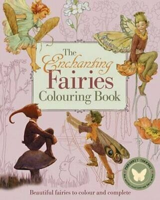 Enchanting Fairies Colouring Book, The By Margaret Tarrant 9781784284084 • 6.54£