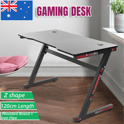 AU111.19 • Buy Gaming Desk Desktop PC Computer Desks Desktop Racing Table Office Laptop Home
