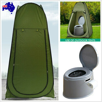 AU28.50 • Buy Outdoor Pop Up Camping Shower Toilet Tent Privacy Portable Change Room Shelter