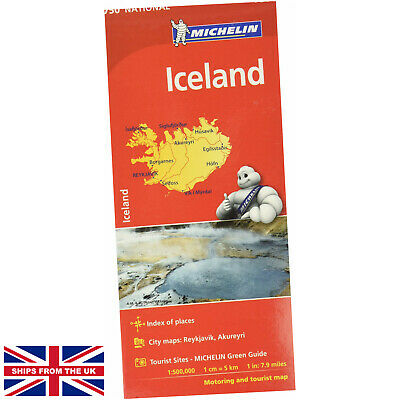 Iceland - Michelin National Map 750 - Michelin (Map) - Map (Michelin National... • 7.99£