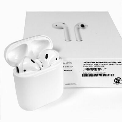 AU92.99 • Buy Apple AirPods 2nd Generation Wireless Earbuds & Charging Case ⭐⭐⭐⭐⭐ Authentic!