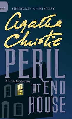 Peril At End House By Agatha Christie (English) Hardcover Book Free Shipping! • 25.14£
