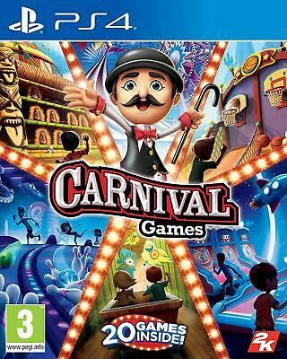 Carnival Games PS4 Brand New Sealed PlayStation 4 Video Game • 19.95£