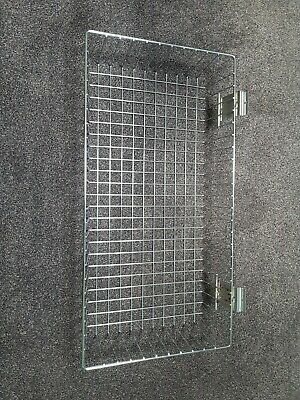 £9.99 • Buy Slat Wall Wire Basket 600 X 300 Chrome Mesh Stock Display Great Condition
