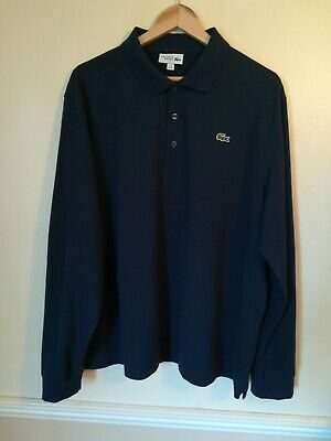 Men's Lacoste Sport Long Sleeve Polo Shirt Size 8 New Without Tags • 14.99£