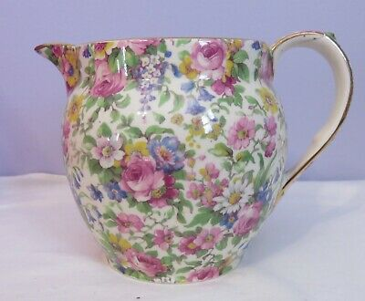 $ CDN25.31 • Buy Vintage ROYAL WINTON GRIMWADES Summertime Chintz Dutch Albans Jug Pitcher