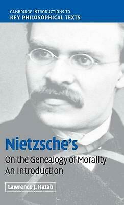 Nietzsche's 'on The Genealogy Of Morality': An Introduction By Lawrence Hatab (E • 73.39£