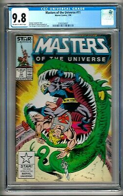 $299.99 • Buy Masters Of The Universe #11 (1988) CGC 9.8 OW/W Pages  Caragonne - Bulanadi