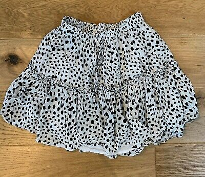 Polka Dot Mini Skirt - Size UK 8 • 2£