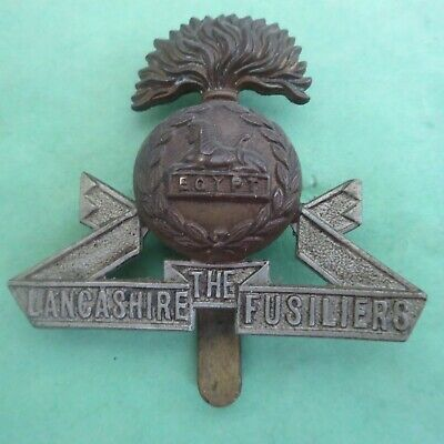 The Lancashire Fusiliers British Army/Military Hat/Cap Badge • 4.75£