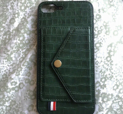 Fake Leather I Phone 7 Case With Wallet • 1.90£