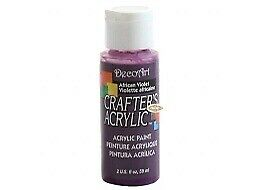 DCA74 African Violet DecoArt Crafters Acrylic 59ml / 2oz • 1.99£
