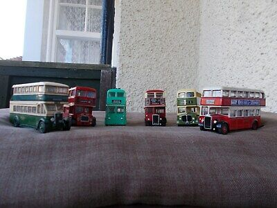 $ CDN49.12 • Buy Job Lot Of 6  Assd 1/76 Double Decker Buses-good Condition/unboxed/used/spares
