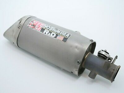 $76.01 • Buy YAMAHA YZF R6 2005 Exhaust Pipe Muffler SlipOn Can Silencer Titanium OEM 2CO