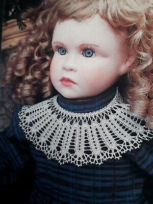 Lacemaking Project Collar Pattern Bobbin Lace • 1.50£