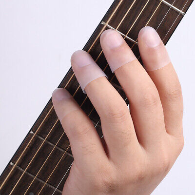 $ CDN8.08 • Buy 4Pcs Finger Picks Guitar Finger Fingertip Protectors Guitar Picks  Holder