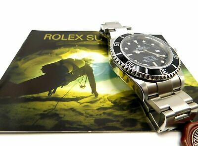 $ CDN4872.94 • Buy LNOS Rolex SS Sea Dweller 16600, 40mm, Box, Papers, Books, Tags, Z Serial 2007
