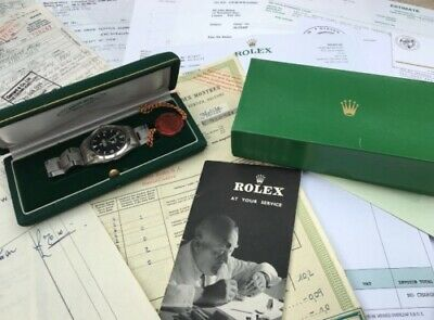 AU918.37 • Buy One Owner Vintage 1958 Rolex 6610 Explorer With All Paperwork   Boxes
