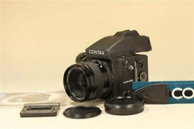 $ CDN3.54 • Buy (EXCELLENT) Contax 645 Medium Format SLR Film Camera+Planar 80mm F2 From JAPAN