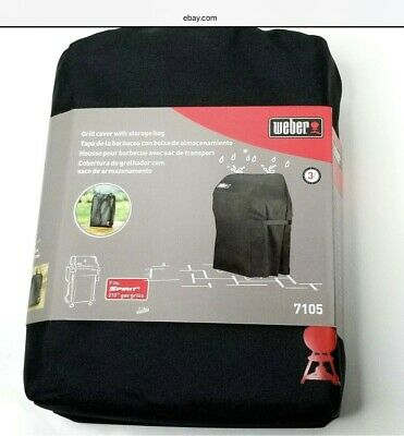 $ CDN40.31 • Buy WEBER 7105 Grill Cover For SPIRIT 210 Gas Grills With Storage Bag FREE SHIPPING