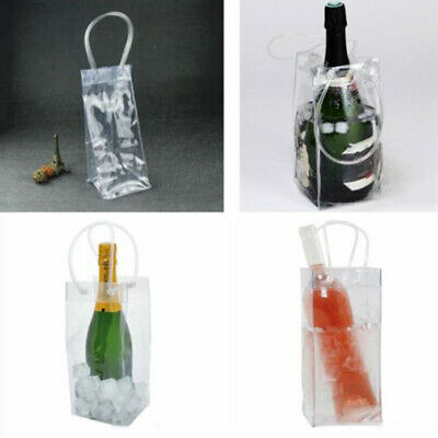 1pcs Beer Wine Bottle Pack Cooler Bag Insulated Tote With Removable Ice Carrier • 4.50£