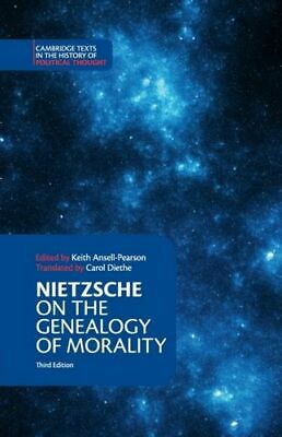 Nietzsche On The Genealogy Of Morality And Other Writings Frai Nietzsche Friedri • 25.51£