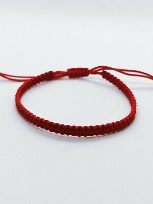 £3.70 • Buy Handmade Wish Lucky Friendship Girl Woman Bracelet Red Cord Protection Gift
