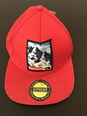 $ CDN15 • Buy The North Face Supreme Hat Red