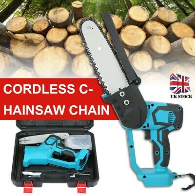 Garden Cutting Tool Electric Cordless Chainsaw Chain Saw For Makita Battery • 59£