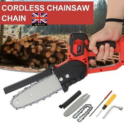 Electric Cordless Chainsaw Garden Chain Saw Cutting Tool For Makita Battery • 60.99£