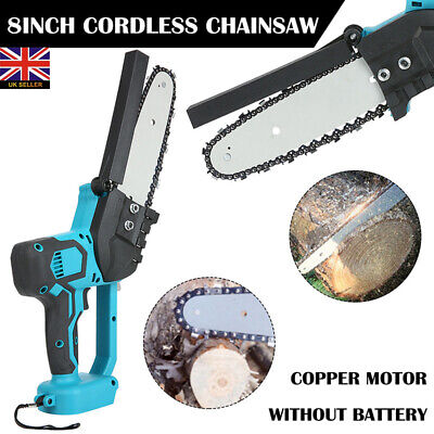 Garden Cutting Tool Electric Cordless Chainsaw Chain Saw For 18V Makita Battery • 59.99£