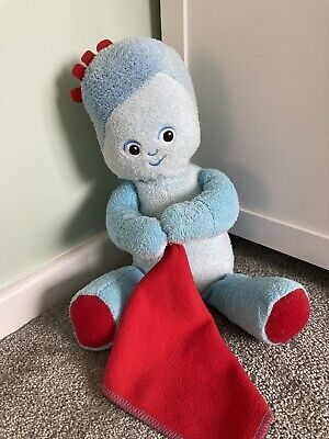 IN THE NIGHT GARDEN Talking IGGLE PIGGLE Cuddly Soft Plush Toy & Sound • 2.90£