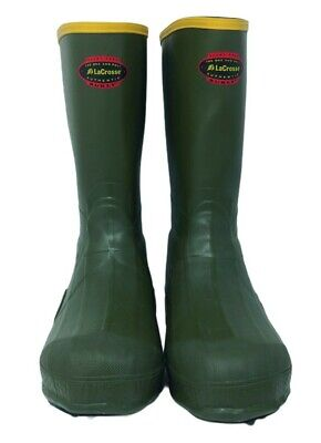 Lacrosse Men's 266052 Burly Air Grip 12  OD Green Rubber Work Boots - Size 10  • 39.79£
