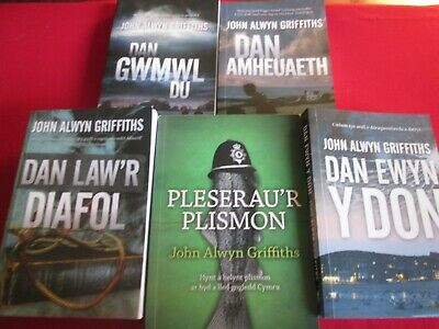 £24.99 • Buy Lot Of 5 John Alwyn Griffiths - Welsh Language Pb Books - Some Signed