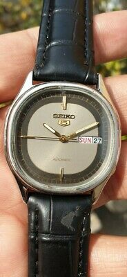 $ CDN37.97 • Buy Vintage Seiko 5 Automatic Movement No 6309 Japan Made Men's Watch