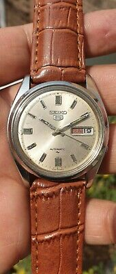 $ CDN37.97 • Buy Vintage Seiko 5 Automatic Caliber 7009 Japan Made Men's Watch