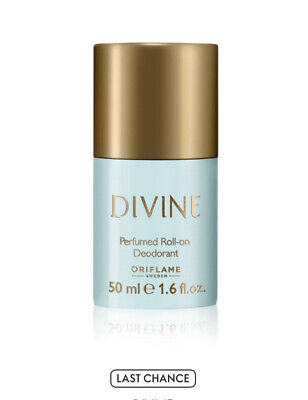 Oriflame Divine Perfumed Roll-On Deodorant • 6.99£
