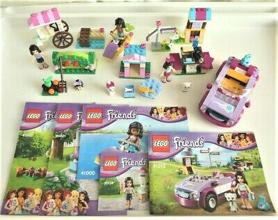 Lego Friends Bundle Lot Of 5 Small Sets 30106 41000 41013 41020 41021 - Complete • 14.99£