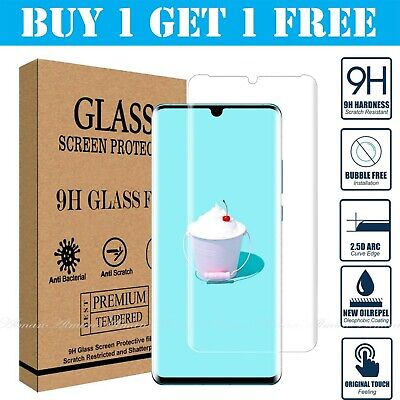 For Huawei P20 Pro Lite P30 Premium Protection Tempered Glass Screen Protector • 2.79£