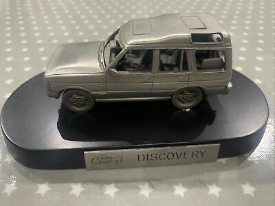 Heavy-Metal Genuine Land Rover Discovery Diecast Model On Stand • 15£