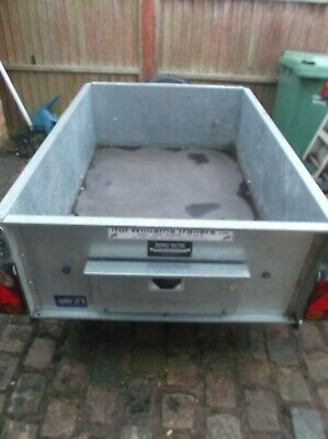 IFOR WILLIAMS TRAILER SINGLE AXLE 50mm TOW HITCH - USED • 900£