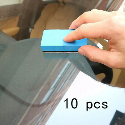 $3.70 • Buy 10* Car Ceramic Coating Sponge Glass Nano Wax Coat Applicator Polishing L RI