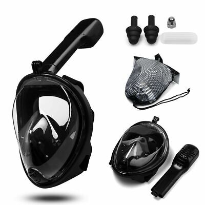 AU22.99 • Buy Full Face Diving Seaview Snorkel Snorkeling Mask Swimming Goggles For GoPro AU