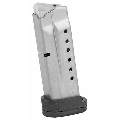 $38.62 • Buy Smith & Wesson 19936 Magazine 9mm 8 Round Stainless Finger Rest S&W M&P Shield
