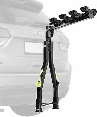 AU179.99 • Buy A Frame Twin Pole 4 Bike Bicycle Tow Ball Car Rack Carrier