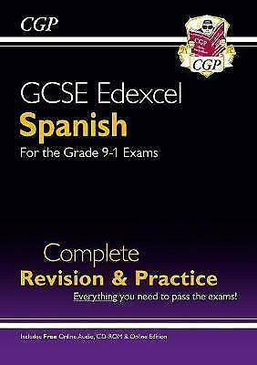 £8 • Buy New GCSE Spanish Edexcel Complete Revision & Practice (with CD & Online Edition)