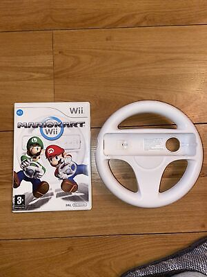 Mario Kart Wii Game With Wheel  • 3.20£